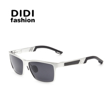 DIDI Polarized Glasses Women Men Aluminium Magnesium Square Sunglasses Brand Eyewear Accessories UV400 Gafas De Sol Mujer H509