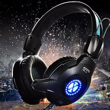 Hot Headphones Earphone Gaming Music Video Light Headset PC whit Mic Volume Control For Computer Gamer Wired Headphone in Mobile