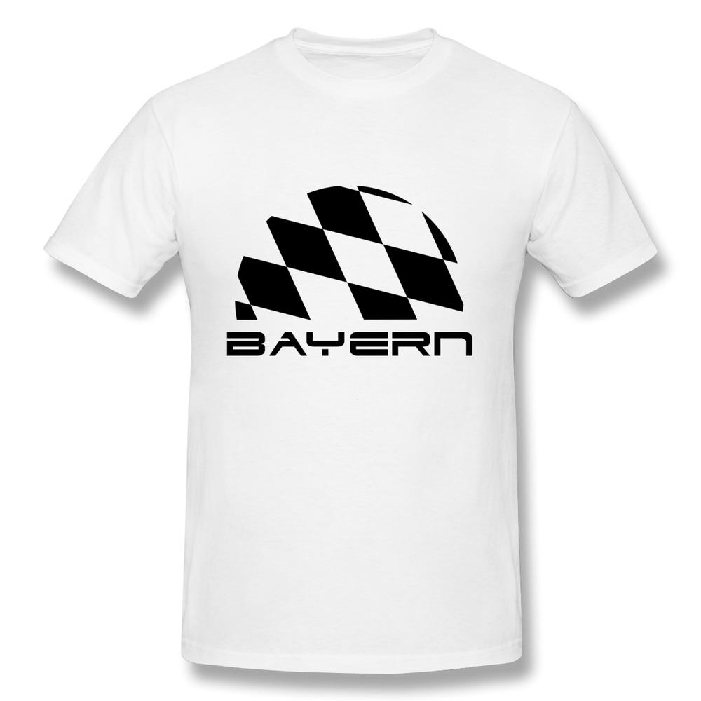 Mens t shirt regular bayern bavaria flag personalize men t for Best mens t shirt brands
