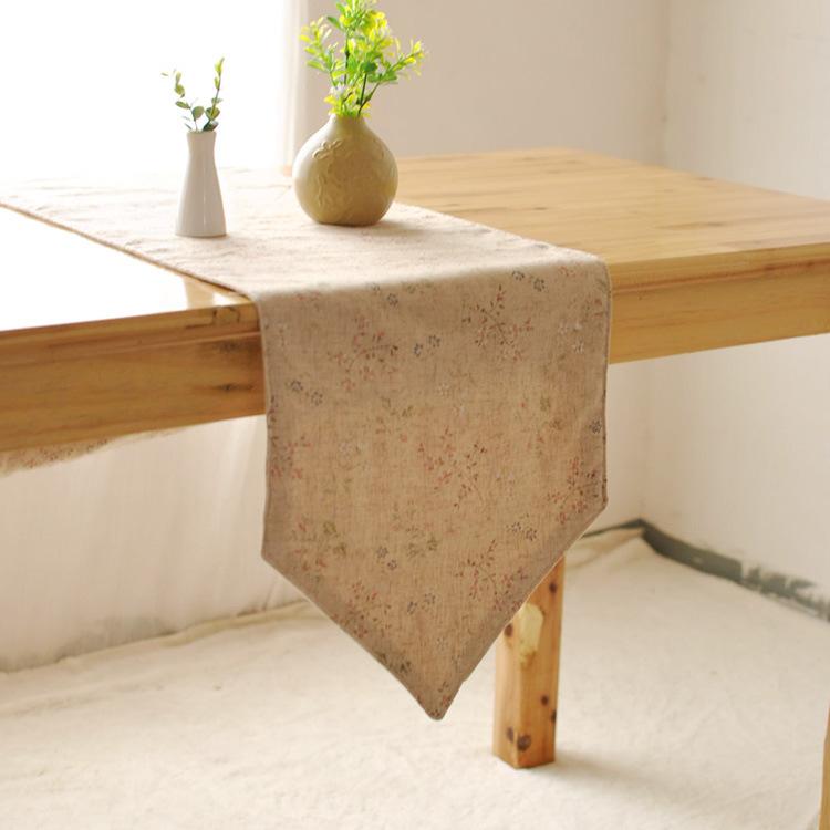 Grade fabric table runners stylish minimalist modern garden coffee table TV cabinet cabinet drape flag linen table runner(China (Mainland))