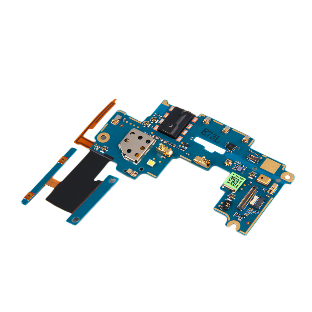 2016 Daughter Board Connectors Volume Headphone Jack Flex Cable For HTC One M7 Hot Selling(China (Mainland))
