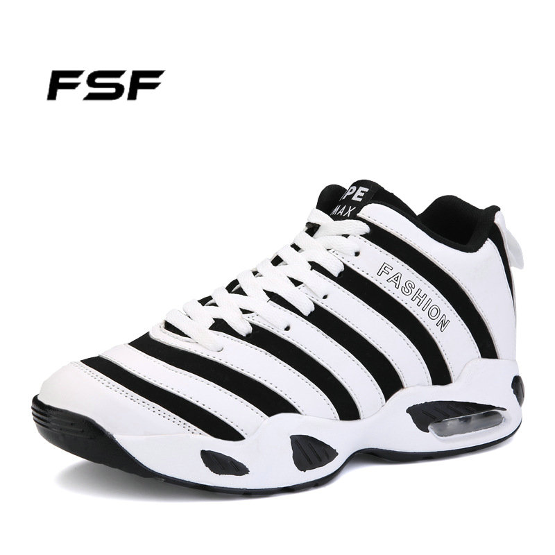 FSF Fashion Zoom Air Basketball Shoes 3 Colors Lace Breathable Outdoor Athletic Men MS017