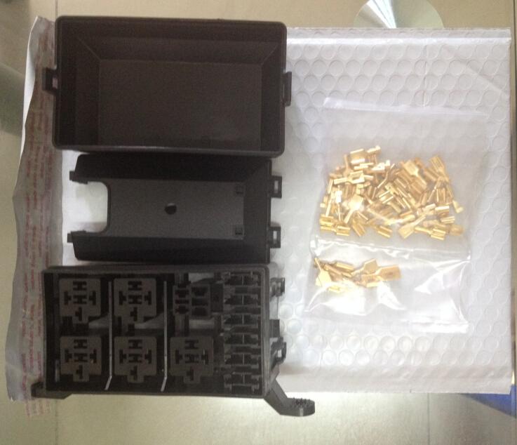 Aliexpress buy automotive fuse box with way relay