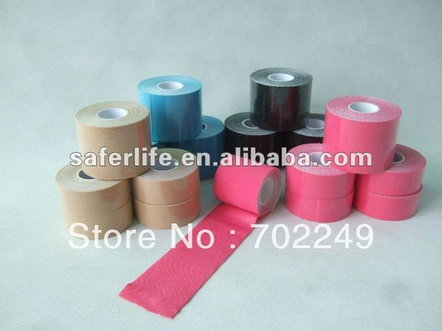 high quality kinesiology tapes ankle/knee/wrist.shoulder, sport tape,athletic tape strapping tape