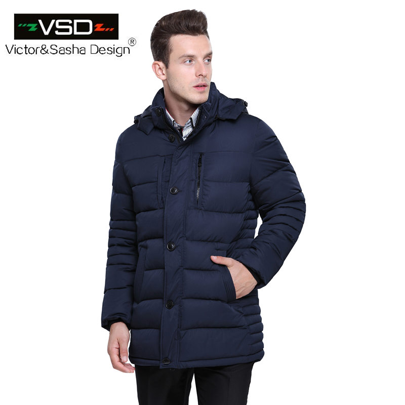 Victor&Sasha Design 2016 Hot Sale High Quality Cotton Brand Clothing Winter Coat Men's Jackets Winter Thick Jacket Parkas VS5866(China (Mainland))