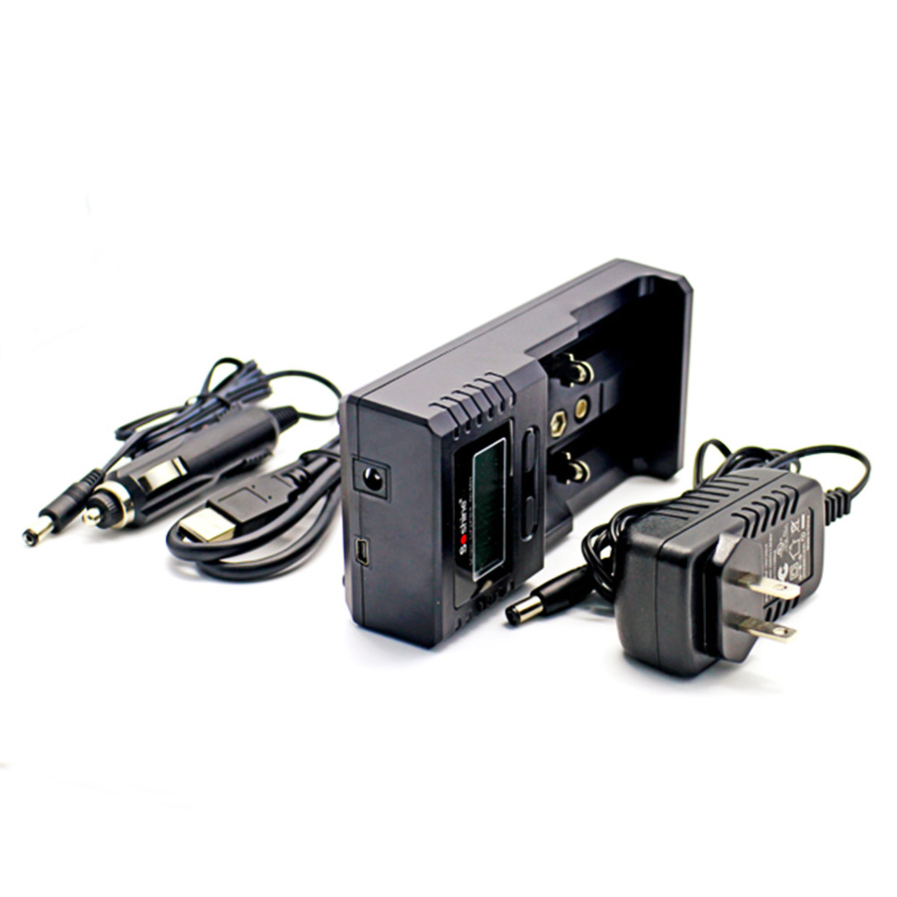 ForSoshine 26650 18650 9V NiMH AA AAA C flashlight SC-H2 V2 LCD Display Intelli Charger(China (Mainland))