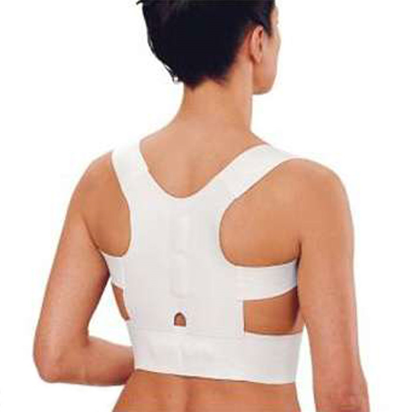 Newly DesignMen Women Magnetic Posture Back Support Corrector Belt Band Brace Shoulder Braces & Supports for Sport Safety(China (Mainland))