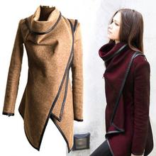 2015 casacos de inverno mulheres longo cachemira casacos trinchera Desigual más el tamaño mulher casacos de la Manteau Abrigos de Mujer(China (Mainland))