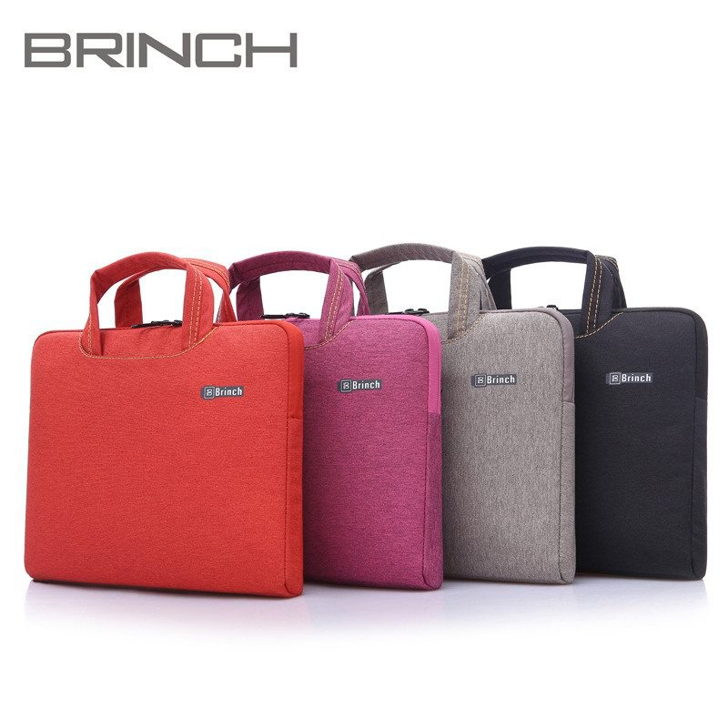 """Laptop Bag 13.3"""" 14.4"""" 15.6"""" inch Fashion High Quality Notebook PC Portable Case Pouch for Macbook +Same Color Small Bag(China (Mainland))"""