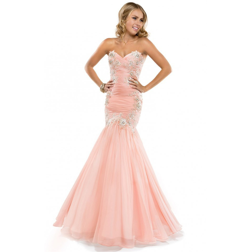 Cheap Prom Dresses Light Pink - Homecoming Prom Dresses