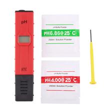 Buy Portable LCD Digital PH Meter Tester Accuracy 0.01 Aquarium Pool Water Wine Pen Type Monitor for $10.50 in AliExpress store