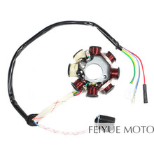 139QMB 139QMA 8 Coil Magneto Stator for GY6 50cc 80cc 100cc Scooters Moped