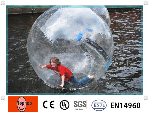 1.0mm TPU Dia 1.8m inflatable water ball water walking games ball,inflatable water zorb balloon for kids and adults(China (Mainland))