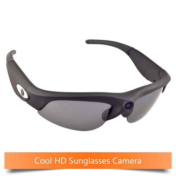 UV400 Protection 720P Waterproof HD Sunglasses Camera video camera glasses with camera Mini Camera(China (Mainland))
