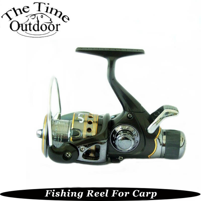 New Arrival Dual Brake Left/Right Aluminum head Interchangeable Collapsible Handle Carp Fishing Spinning Reel Reels Pesca(China (Mainland))