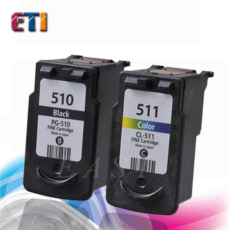 Ink Cartridge compatible Canon PG-510 CL-511 for MP240 / MP250 / MP260 / MP270 / MP272 / MP280  MP480 / MP490 / MP492 / MX320 <br><br>Aliexpress