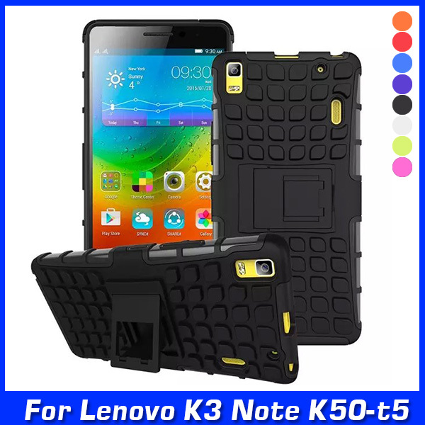 """Luxury Armor Hybrid TPU Shock Proof Silicone+Hard Shell Cell Phone Cover For Lenovo K3 Note K50-t5 4G LTE (5.5"""") Case Back Cover(China (Mainland))"""