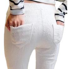 new 2016 summer autumn women pants high-elastic leggings plus size pantalon femme trousers for women lace pantalones mujer(China (Mainland))