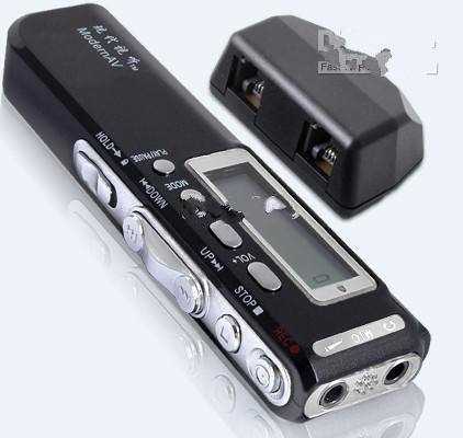 Hot 2GB Mp3 Dictaphone 580Hr Digital STEREO Voice Recorder(China (Mainland))