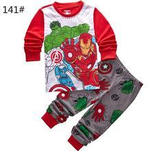 Buy Kids Clothes Baby Boys Girls Clothing Costume Hulk Long Sleeve Pijamas Childrens Sleepwear nightclothes Sets Pajamas Pyjamas for $3.60 in AliExpress store