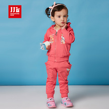 2016 baby girls clothing sets girls suit long sleeve trech coat+ trackpants kids sports suits children clothing size 1-3t