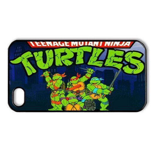 fashion trend Custom cartoon five brothers Turtles Protective Cover Case For iPhone 5 5S(China (Mainland))
