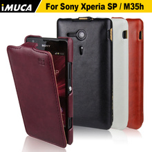 Buy Sony Xperia SP Case C5303 Cover Flip Leather Case Sony Xperia Sp M35C M35h C5302 C5303 C5306 Luxury phone cases iMUCA for $5.82 in AliExpress store