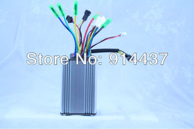 Regeneration Electric Bicycle Brush-less Controller 36V 12 MOSFET
