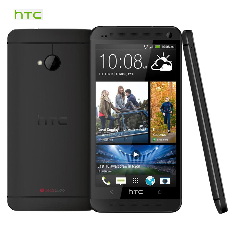 """Original HTC One Mini 601e Mobile Phone 1.4GHz Dual Core 1G RAM 16G ROM 4.3"""" Android OS 4.2 3G WIFI Factory Unlocked Refurbished(China (Mainland))"""