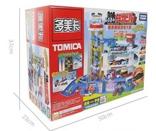 High quality! TOMICA Super Alloy Car Toy Car Building Parking Lot tomica track baby /Children's Cars Railroad car track Toy(China (Mainland))
