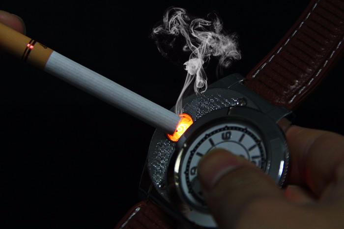ถูก แฟชั่น2 In 1 Huayueแบบชาร์จUSBดูเบาW Indproofบุหรี่อิเล็กทรอนิกส์เบา, LED Flamelessควอตซ์ดูเบา