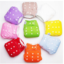 Reusable Baby Infant Nappy Cloth Diapers Soft Covers Washable Free Size Adjustable Fraldas Winter Summer Version - LianlianBushe Hall store