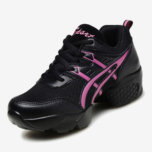 Buy New Women Air Mesh Sports Dancing Sneakers Shoes Women's Line Dance Shoes Platform Girls Dancing Shoe Black Sale 7313 for $27.90 in AliExpress store