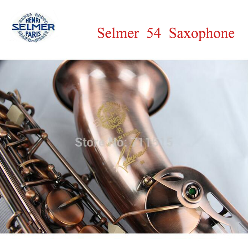 Copy Henri selmer tenor saxophone instruments Reference 54 red bronze <br><br>Aliexpress