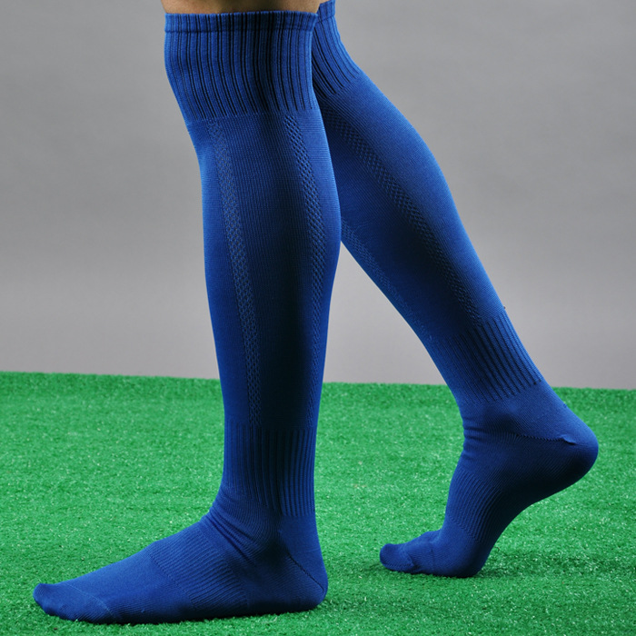 High quality football sock their men Football stockings thin section Pure color plate movement performance sock socks(China (Mainland))