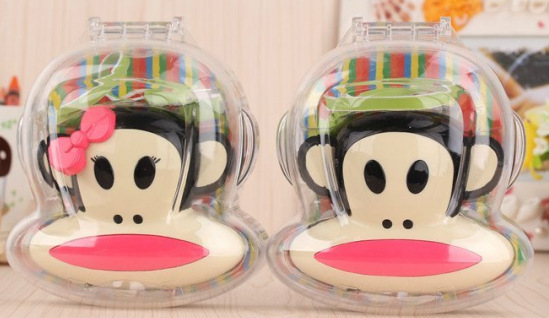 1pc Cute Power Bank Paul Cartoon USB Batterie External Universal Battery Carregador for Celuar Phones(China (Mainland))