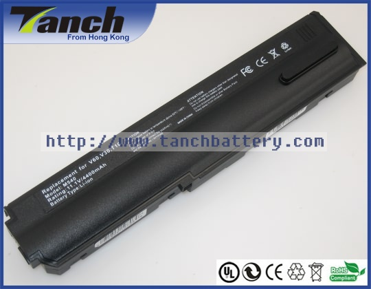 Replacement CLEVO laptop batteries for M540,G,V,87-M54GS-4D3,M555G,M55G,M551G,M545V,M55V,M541V,87-M54GS-4J4,A,11.1V,6 cell(Hong Kong)