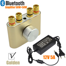 Buy 2017 New Audio F900 Mini Bluetooth Headphone Amplifier Hifi Stereo Power AMP 50W+50W Power Adapter FREE SHIPPING-10000693_G for $24.55 in AliExpress store