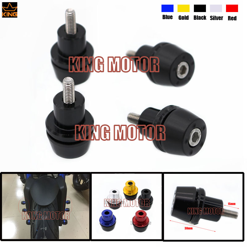 Hot Sale Motorcycle Accessories Front Fender Frame Slider Screw Bolt Fork Protector 6mm Black For YAMAHA YZF R125 YZF R6 YZF R1(China (Mainland))