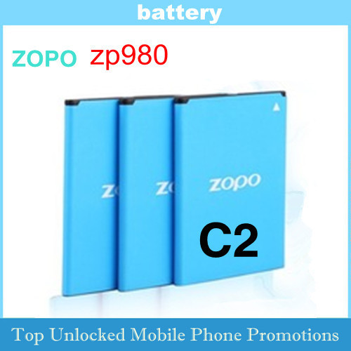 Fast Free Ship Rechargeable Li-ion Battery Accumulator for ZOPO C2 zp980 2000mAh  BT78S