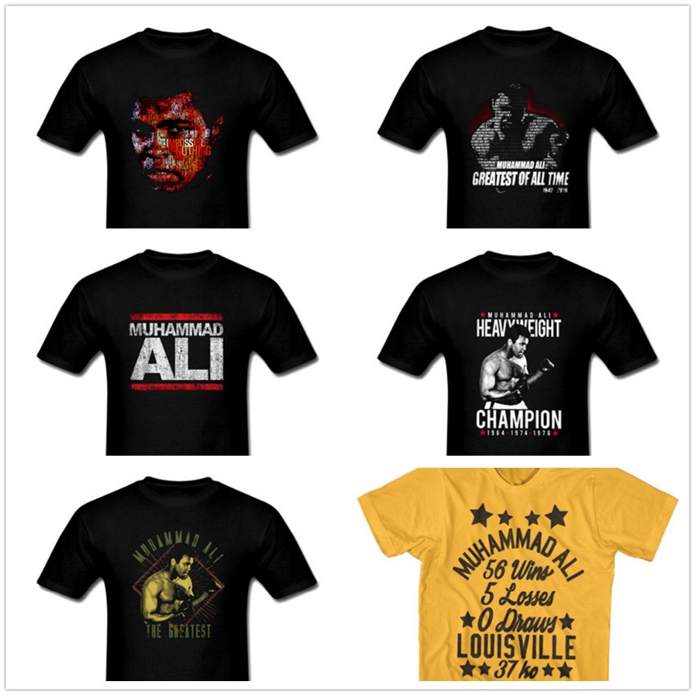 Muhammad ali greatest of all time t shirt american for All american classic shirt