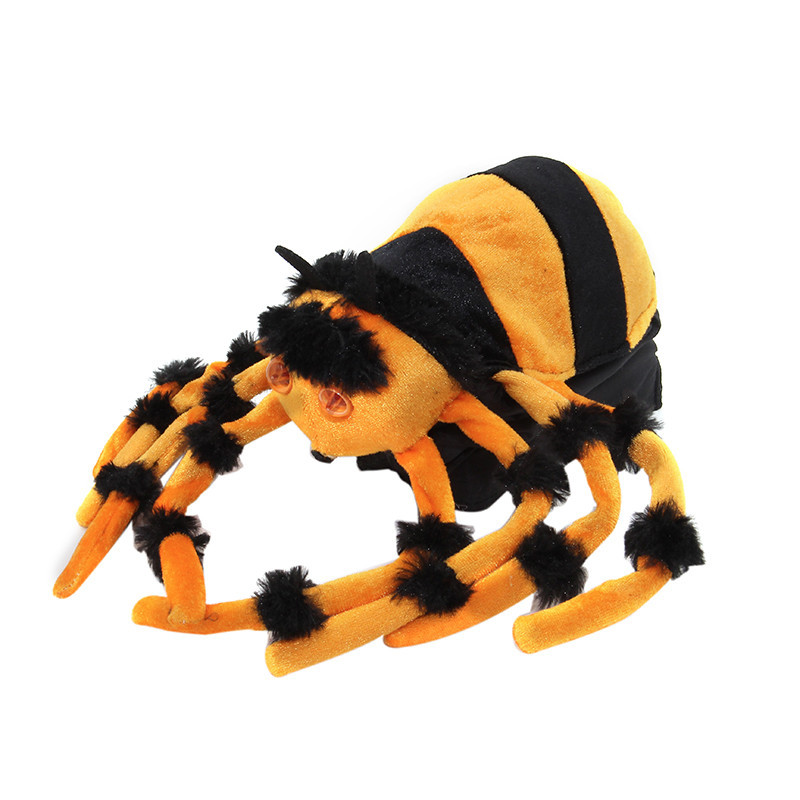 Popular jumping spider buy cheap jumping spider lots from for Animated spider halloween decoration