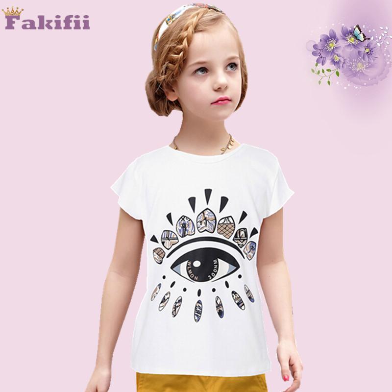 Minion 2015 Summer New Children T shirts Fashion Baby Girls T shirt Brand Designer Kids Tops&Tees Shirts Girls Clothing