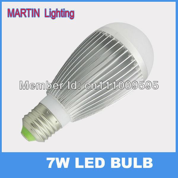 High qualiry 750lm led ball bulb lamp bright 7w energy saving  beads household lighting 120V
