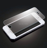 Package 0.4 MM Hardness 9H Tempered Glass  Screen Protector+ Stylus (free gift)  for iPhone 5S 5C
