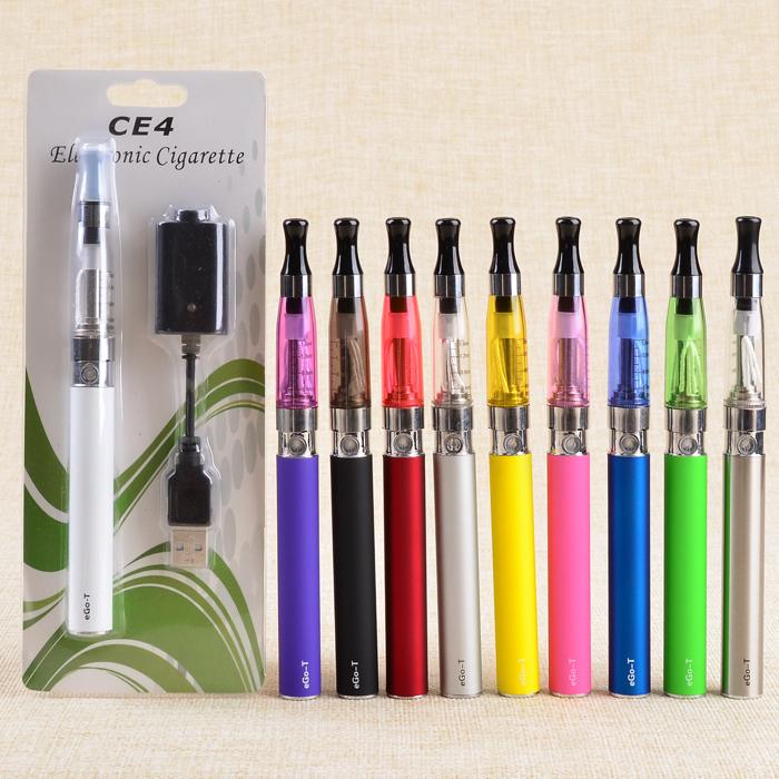 5pcs ego kits electronic cigarette 1.6ml Atomizer ego CE4 battery 650mah 900mah 1100mah ego t battery eGo kits<br><br>Aliexpress