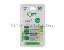 8 шт. / lot bty AAA 1,2 V 1350 мАч Ni-MH перезаряжаемый батареи упаковка