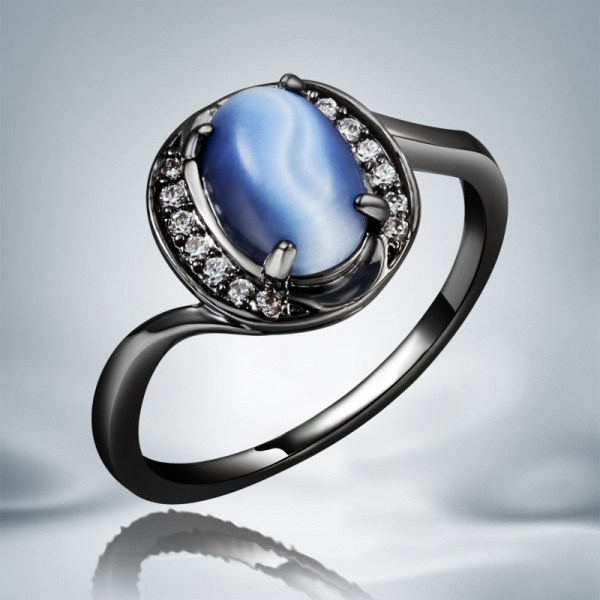 Кольцо Bella Jewelry 14KT Ziron R617 JWZW18R617 changxing jewelry 6x8mm 14kt