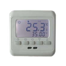 Buy Floor Heating Digital Thermostat Underfloor Warm Temperature Controller Weekly Programmable LCD Backlight Free for $15.80 in AliExpress store