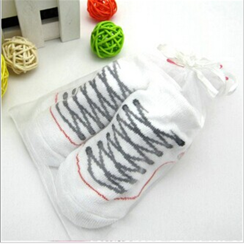 2016 New Arrivial White Cute Baby Toddler Infant Prewalker Stereo Boot Sock Shoes Anti Slip Crib Floor(China (Mainland))